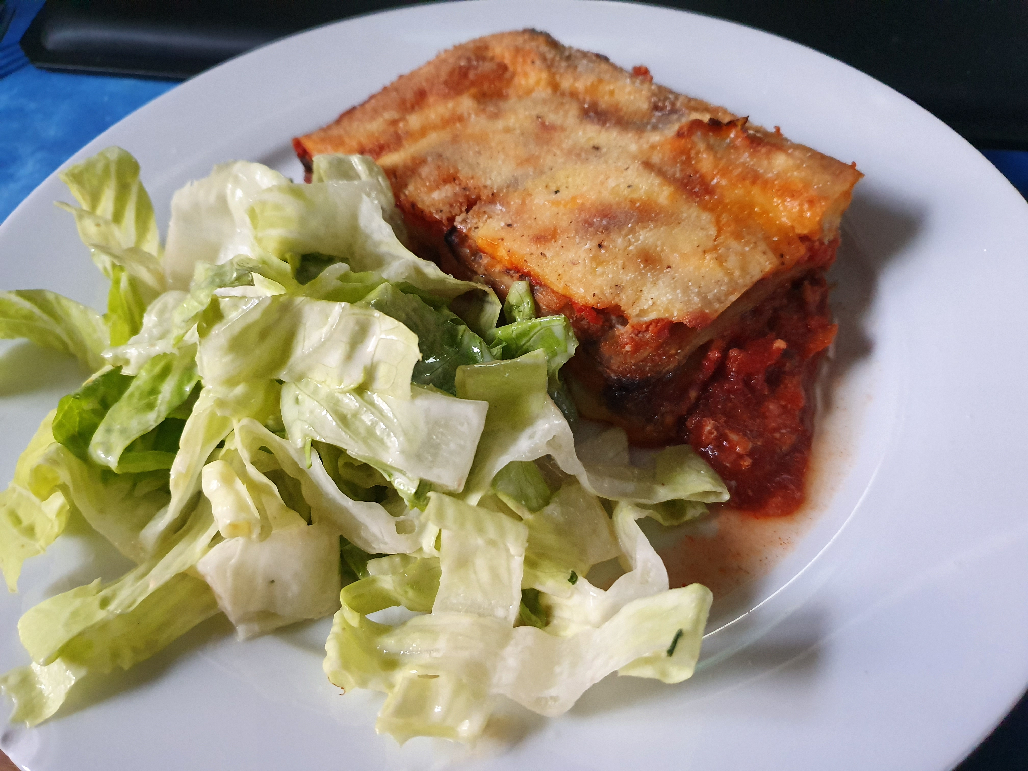 Melanzane alla Parmigiana (Baked Aubergine with Cheese & Tomato)