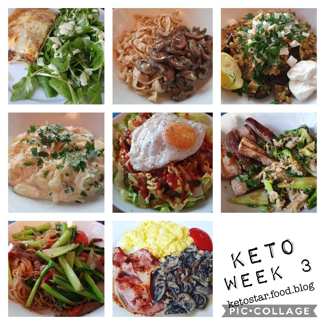 Keto Week 3 – Review